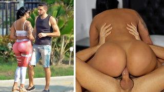 Destroying A Venezuelan Girl's Big Ass With Anal Sex